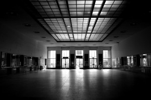 Abandoned Ticket hall