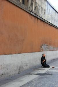 Rome, Beggar